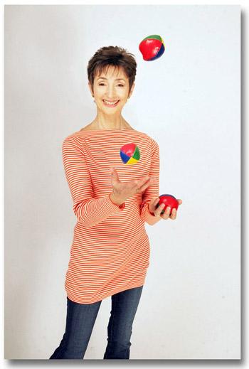 Susan Lange Juggling